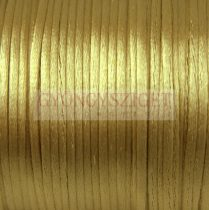 Rattail - Silky Finish Synthetic Cord - 2mm - Golden Apricot