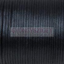 Selyem zsinór (rattail) - 2mm - Black