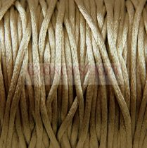 Rattail - Silky Finish Synthetic Cord - 2mm - Cuban Sand