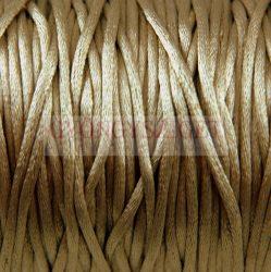 Selyem zsinór (rattail) - 2mm - Cuban Sand