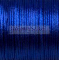 Selyem zsinór (rattail) - 2mm - Imperial Blue