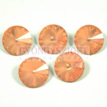 Rivoli - akril - peach opal - 12mm