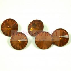 Rivoli - akril - topaz opal - 12mm