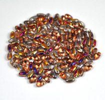 Rizo - Czech Glass Bead - crystal sliperit-2.5x6mm