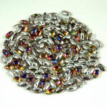 Rizo gyöngy-kristály vulcano-2,5x6mm