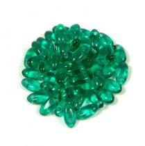 Rizo gyöngy-emerald-2,5x6mm