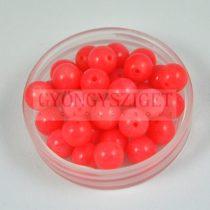 Rózsaszín korall gyöngy 6mm