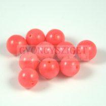 Rózsaszín korall gyöngy 8mm