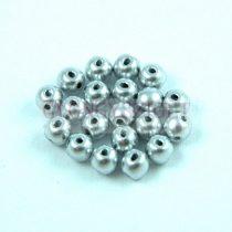 RounDuo gyöngy - Aluminium - 4mm