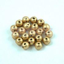 RounDuo gyöngy - Aztec Gold - 4mm