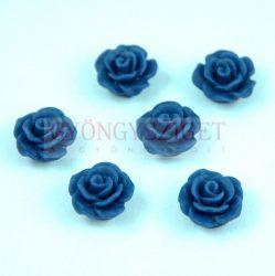 Műanyag alul fúrt rózsa gyöngy - Montana - 10mm