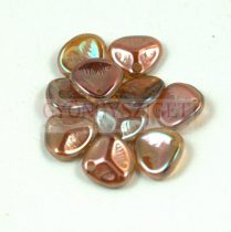 Préselt rózsaszirom gyöngy - Rose Petal -  crystal venus -8x7mm