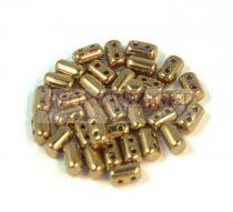 Rulla bead 3x5mm - golden bronze