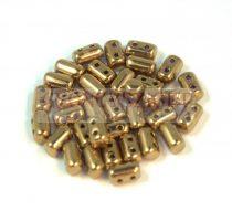 Rulla bead 3x5mm - golden bronze