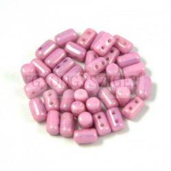 Rulla bead 3x5mm rose luster
