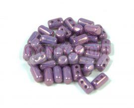 Rulla bead 3x5mm crystal purple luster