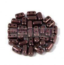 Rulla gyöngy-3x5mm - jet lila vega lüszter