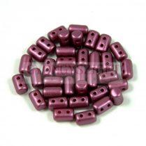 Rulla gyöngy-3x5mm - pastel burgundy