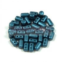 Rulla gyöngy - 3x5mm - Pastel Petrol
