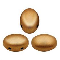 Samos® par Puca®gyöngy - Bronze Gold Matte - 5x7 mm