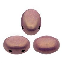 Samos® par Puca®gyöngy - White Pink Gold Luster - 5x7 mm