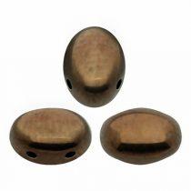 Samos® par Puca®gyöngy - Bronz - 5x8 mm