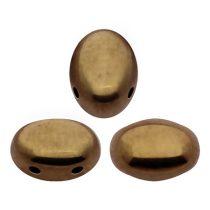 Samos® par Puca®gyöngy - Golden Bronz - 5x8 mm