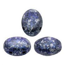 Samos® par Puca®gyöngy - Tweedy Blue - 5x7 mm