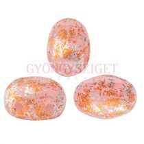 Samos® par Puca®gyöngy - Light Rose Opal Tweedy - 5x7 mm