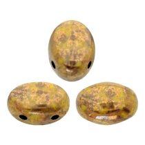 Samos® par Puca®gyöngy - Opaque Jonquil Deep Gold - 5x7 mm