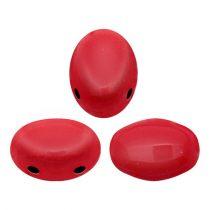 Samos® par Puca®gyöngy - Opaque Coral Red - 5x7mm