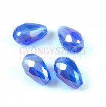 Csiszolt csepp gyöngy 15x10mm - Sapphire AB