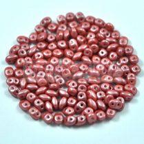 Superduo gyöngy 2.5x5mm - pearl shine autumn leaf