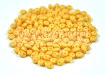 Superduo gyöngy 2.5x5mm - matt karamell