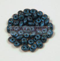 Superduo gyöngy 2.5x5mm - pasztel sötétkék