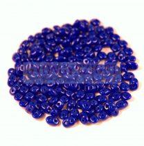 Superduo cseh préselt kétlyukú gyöngy - 2.5x5mm - sapphire
