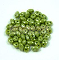 Superduo gyöngy 2.5x5mm - telt világos olíva lüszter