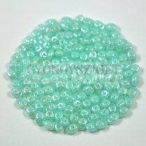 Superduo gyöngy 2.5x5mm - opal baby blue luster