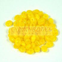 Superduo gyöngy 2.5x5mm - sunflower