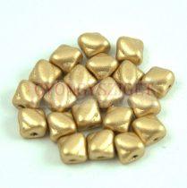 Silky gyöngy - Aztec Gold - 5x5mm