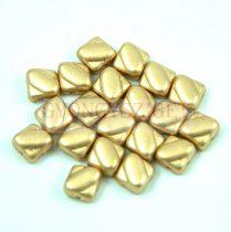 Silky gyöngy - Aztec Gold - 6x6mm