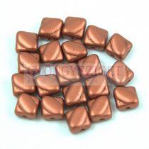 Silky gyöngy - Matt Rust - 6x6mm
