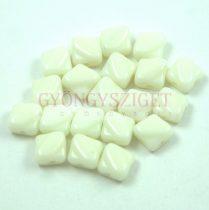 Silky gyöngy - Mint Youghurt - 6x6mm