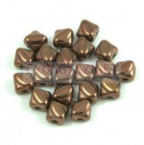 Silky gyöngy - Bronz - 5x5mm