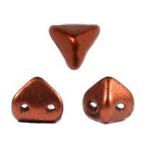 Super Kheops® par Puca® 2lyukú gyöngy - 6mm - matte rust