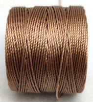 S-LON cérna - 0.5mm - Med Brown