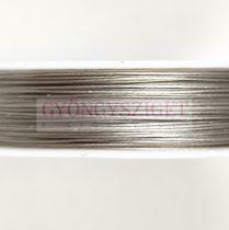 Sodrony - sötét ezüst színű - 0.45mm - 80m