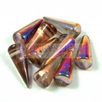 Cseh préselt tüske gyöngy - kristály sliperit -7x17mm