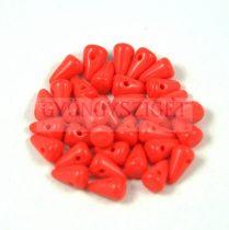 Préselt tüske gyöngy - Dark Coral - 5x8mm