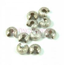 Stopper rejtő - ezüst színű csiszolt - 3.2mm